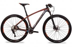 Bicicleta Oggi Agile Pro Carbon 29 Preto/Laranja